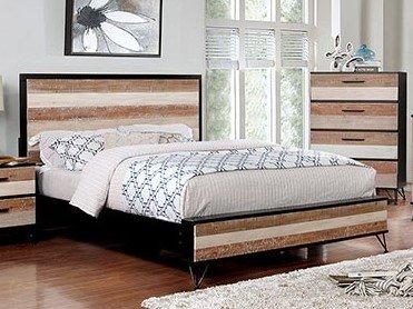 Haddel Queen Bed Multicolor
