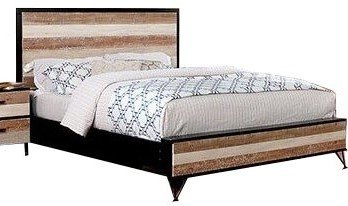 Haddel Queen Bed Multicolor