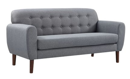 Joyce Loveseat Gray
