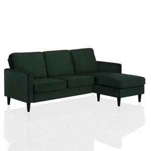 Strummer Reversible Sectional Green