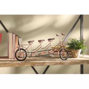 Metal Wood Model Cycle Copper
