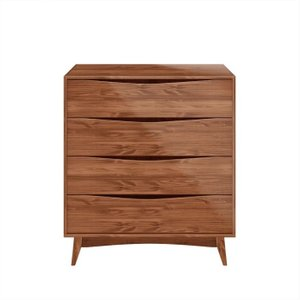 "Hamilton Dresser 35.03"" Wide Dark Brown"