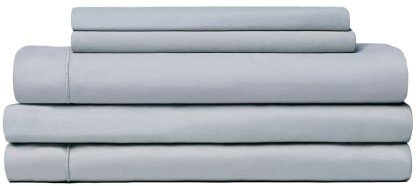 Snowe 5-Piece Percale Starter Sleep Bundle King Slate Blue