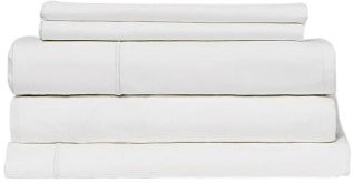 Snowe 5-Piece Percale Starter Sleep Bundle King Essential White