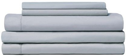Snowe 5-Piece Percale Starter Sleep Bundle Queen Slate Blue