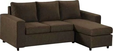 Avior Sectional Sofa Brown