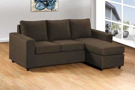 Avior Sectional Brown