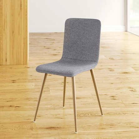 Burul Upholstered Dining Chair Gray (Set of 4)