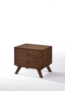 Jim Century 2 Drawer Nightstand Walnut