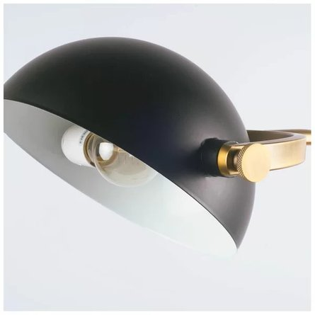 "Kimberley 55"" Task Floor Lamp Black"