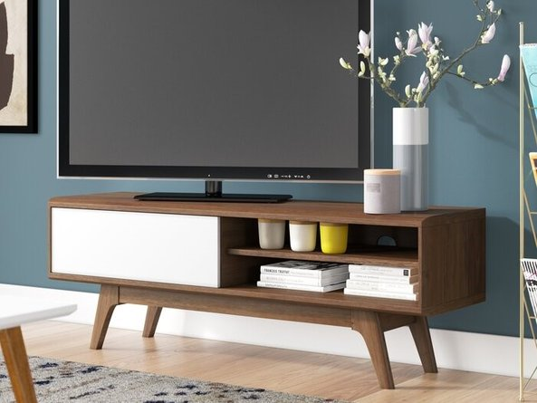 "Cursa Stoke TV Stand for TVs up to 48"" Walnut"