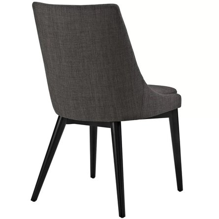 Bolling Wood Leg Upholstered Dining Chair Brown