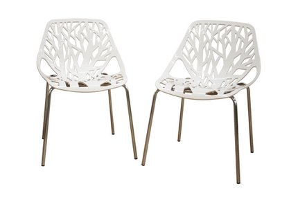 Heidi Dining Chair White (Set of 2)