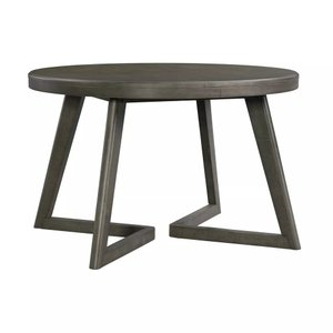 Hudson Round Dining Table Gray