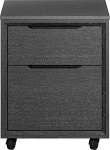 Amsterdam Filing Cabinet Gray Oak