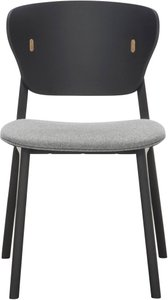 Emi Dining Chair II Black Oak (Set of 2)
