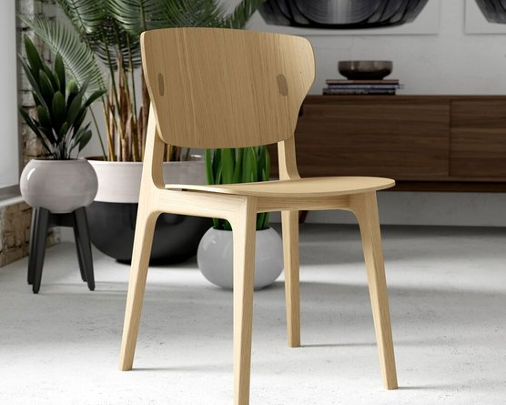 Emi Chair Natural Oak (Set of 2)