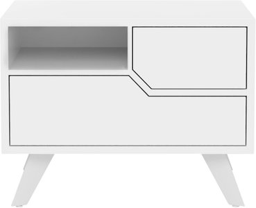 Rivington Nightstand White