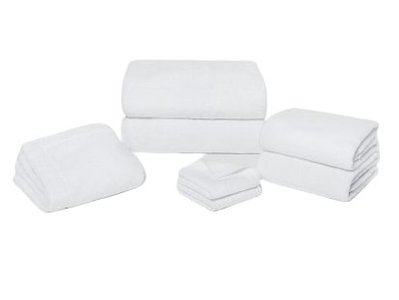 Snowe 7-Piece Classic Starter Bathe Bundle Essential White