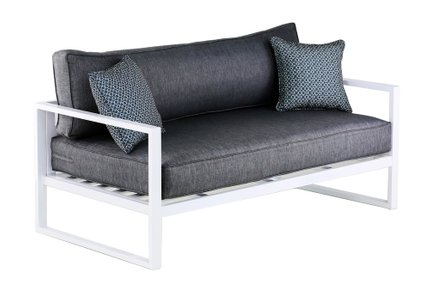 Antares Outdoor Sofa Gray