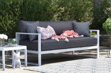 Antares Outdoor Sofa Gray