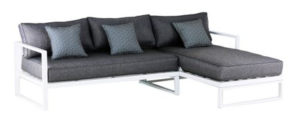 Antares Outdoor Sectional Gray