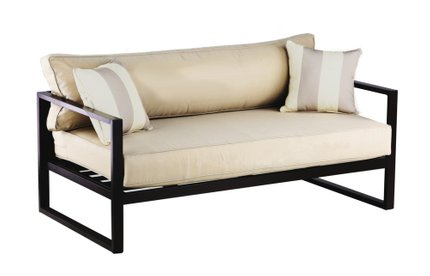 Cebalrai Outdoor Sofa in Bronze