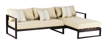 Cebalrai Outdoor Sectional in Bronze