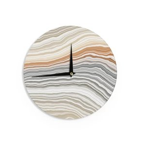 Vernal Pools Wall Clock Multicolor