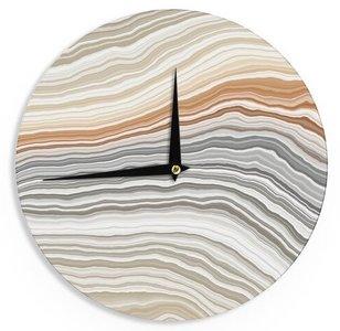 Vernal Pools Wall Clock Multicolor