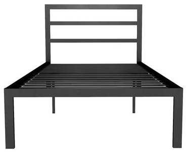 Steph Platform Full Bed Black