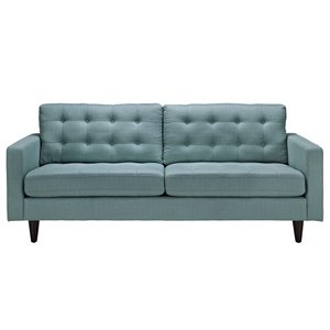 Empress Upholstered Fabric Sofa Laguna