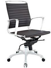Tempo Mid Back Office Chair Brown