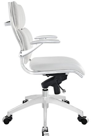 Escape Mid Back Office Chair White
