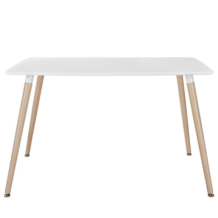 Field Rectangle Dining Table White In Ny Amp Nj Tables