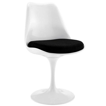 Lippa Dining Fabric Chair Black