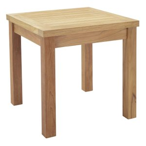Marina Square Side Table Natural