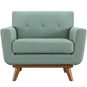 Engage Upholstered Fabric Armchair Laguna