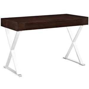 Sector Office Desk Walnut