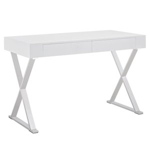 Sector Office Desk White