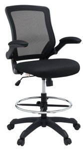 Veer Drafting Chair Black