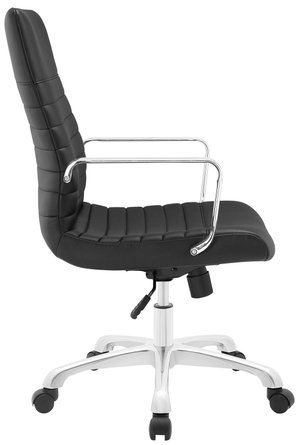 Finesse Mid Back Office Chair Black