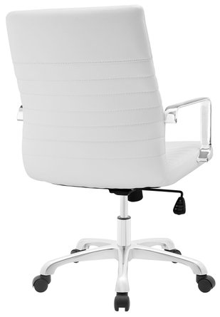 Finesse Mid Back Office Chair White