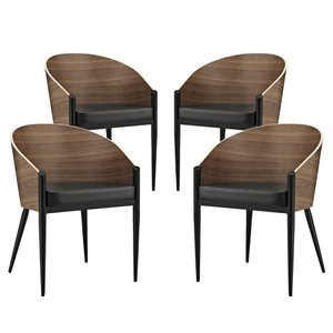 Cooper Dining Chair Walnut (Set Of 4)