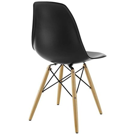 Pyramid Dining Chair Black
