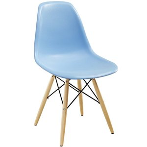 Pyramid Dining Chair Light Blue