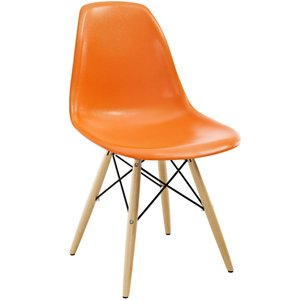 Pyramid Dining Chair Orange