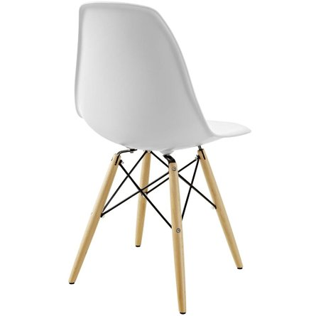 Pyramid Dining Chair White
