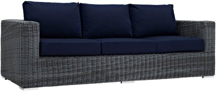 Summon Outdoor Sofa Canvas Navy