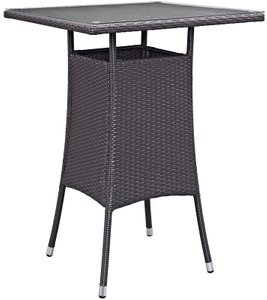 Convene Small Outdoor Bar Table Espresso
